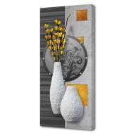 Часы-картинаЧасы-картина Натюрморты - Картина на холсте (канвас) KH41