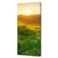 Часы-картинаЧасы-картина Природа - Картина на холсте (канвас) KH95