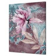 Цветы - Картина на холсте (канвас) KH890