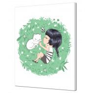 Картина-сувенир - Картина на холсте (канвас) KH857