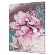Цветы - Картина на холсте (канвас) KH889