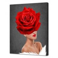 Картины на холстеКартины на холсте 40х50 - Картина на холсте (канвас) KH1025