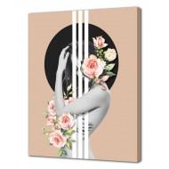 Картины на холстеКартины на холсте Люди - Картина на холсте (канвас) KH1026