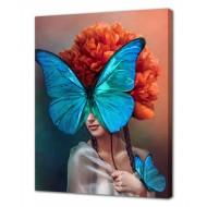 Картины на холстеКартины на холсте 40х50 - Картина на холсте (канвас) KH1029