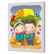 Картины на холстеКартины на холсте 40х50 - Картина на холсте (канвас) KH985