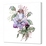 Цветы - Картина на холсте 24_46х46