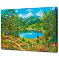 Картины на холстеКартины на холсте 50х70 - Картина на холсте (канвас) KH623