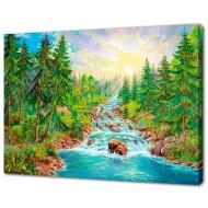 Картины на холстеКартины на холсте 50х70 - Картина на холсте (канвас) KH624