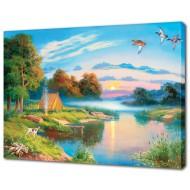 Картины на холстеКартины на холсте 50х70 - Картина на холсте (канвас) KH628