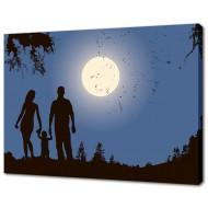 Картины на холстеКартины на холсте 50х70 - Картина на холсте (канвас) KH636