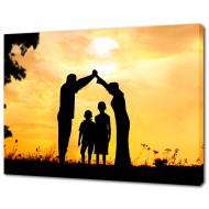 Картины на холстеКартины на холсте 50х70 - Картина на холсте (канвас) KH637