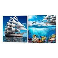 Картины на холстеКартины на холсте Канвасы 50x50 - KH350