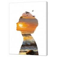 Картины на холстеКартины на холсте Люди - Картина на холсте (канвас) KH928