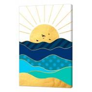Репродукции Репродукции  Море - Картина на холсте (канвас) KH48