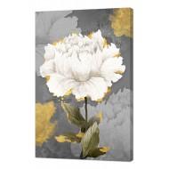 Цветы - Картина на холсте (канвас) KH74