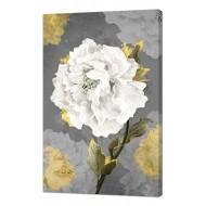 Цветы - Картина на холсте (канвас) KH75