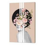 Картины на холстеКартины на холсте Люди - Картина на холсте (канвас) KH80