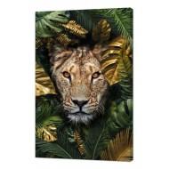 Картины на холстеКартины на холсте Животные - Картина на холсте (канвас) KH84