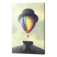 Картины на холстеКартины на холсте Люди - Картина на холсте (канвас) KH99