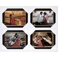 Подарочные наборыПодарочные наборы 40x50 из 4-х изображений - Ч012