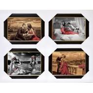ЛюдиПодарочные наборы 40x50 из 4-х изображений - Ч015