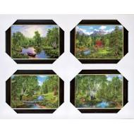 ЛюдиПодарочные наборы 40x50 из 4-х изображений - Ч016
