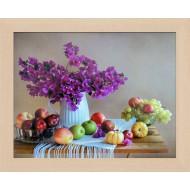 ЦветыЦветы Постер в раме 20х25 - Фото постер в раме 2 см - А804_20x25