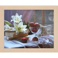 ЦветыЦветы Постер в раме 20х25 - Фото постер в раме 2 см - А805_20x25