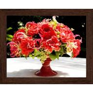 Цветы - Фото постер в раме 2 см - A109_20x25