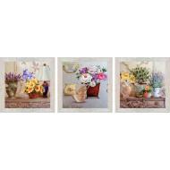 ЦветыЦветы 18x54 - Картина PR1: 18x54
