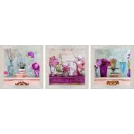 ЦветыЦветы 18x54 - Картина PR2: 18x54