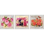 ЦветыЦветы 18x54 - Картина PR4: 18x54