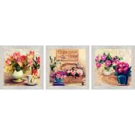 ЦветыЦветы 18x54 - Картина PR6: 18x54