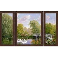 Картина-сувенир - Триптих K110 50х80