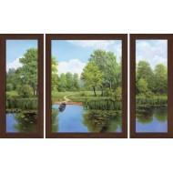 Картина-сувенир - Триптих K117 50х80
