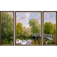 Картина-сувенир - K110 - Триптих