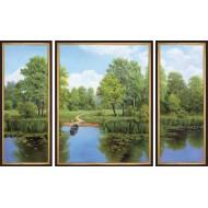 Картина-сувенир - K117 - Триптих