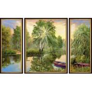 Картина-сувенир - K118 - Триптих