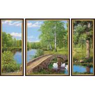 Картина-сувенир - K124 - Триптих