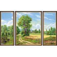 Картина-сувенир - K168 - Триптих