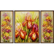 Картина-сувенир - K332 - Триптих