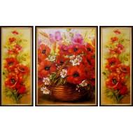 Картина-сувенир - K333 - Триптих